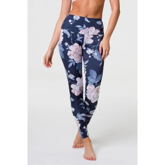 Onzie Floral Yoga Leggings